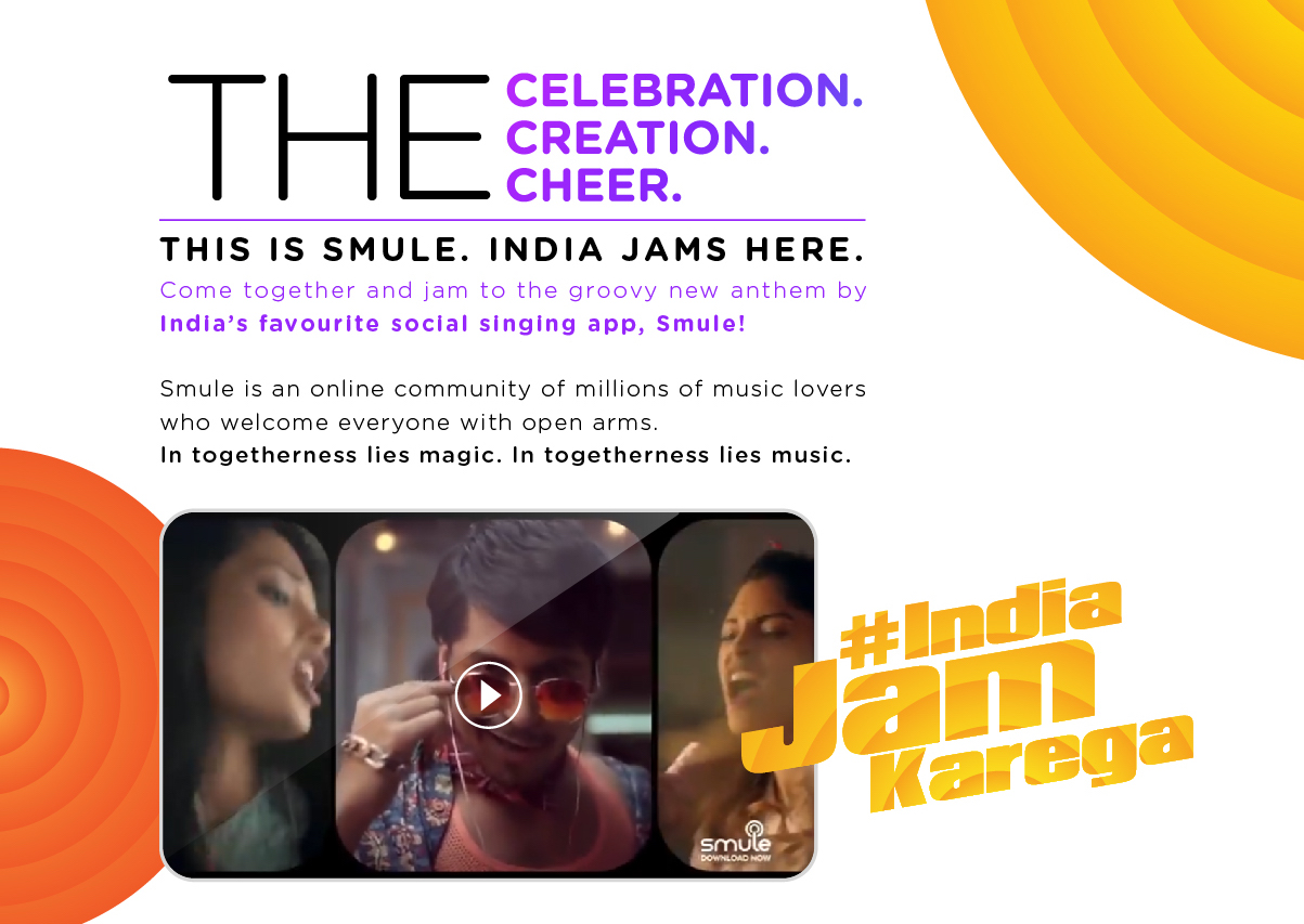Smule's 'India Jam Karega' Calls For Unity Over Shared Passion For Music.